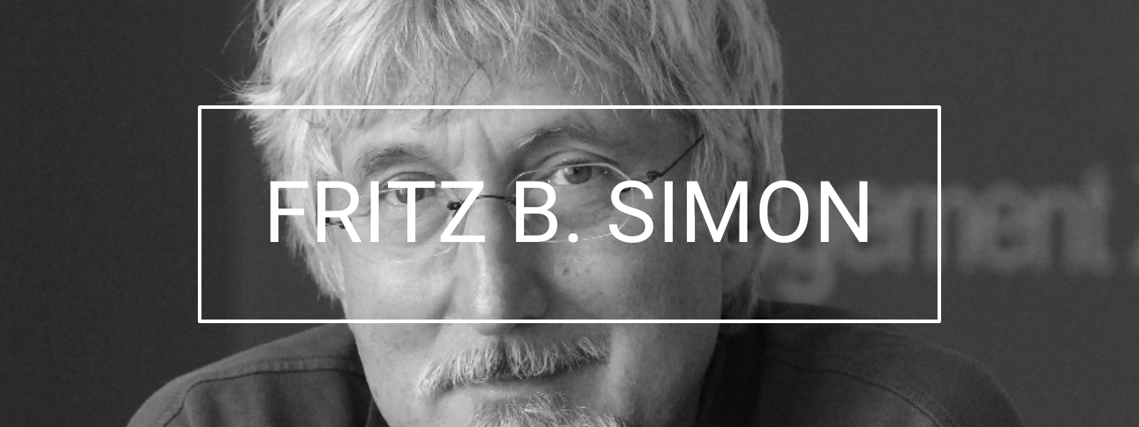 Fritz B. Simon Books